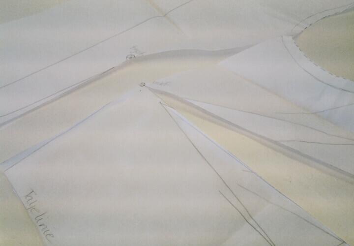 workshop i tilretning af kjolegrundmønster