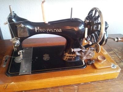 gamle symaskiner