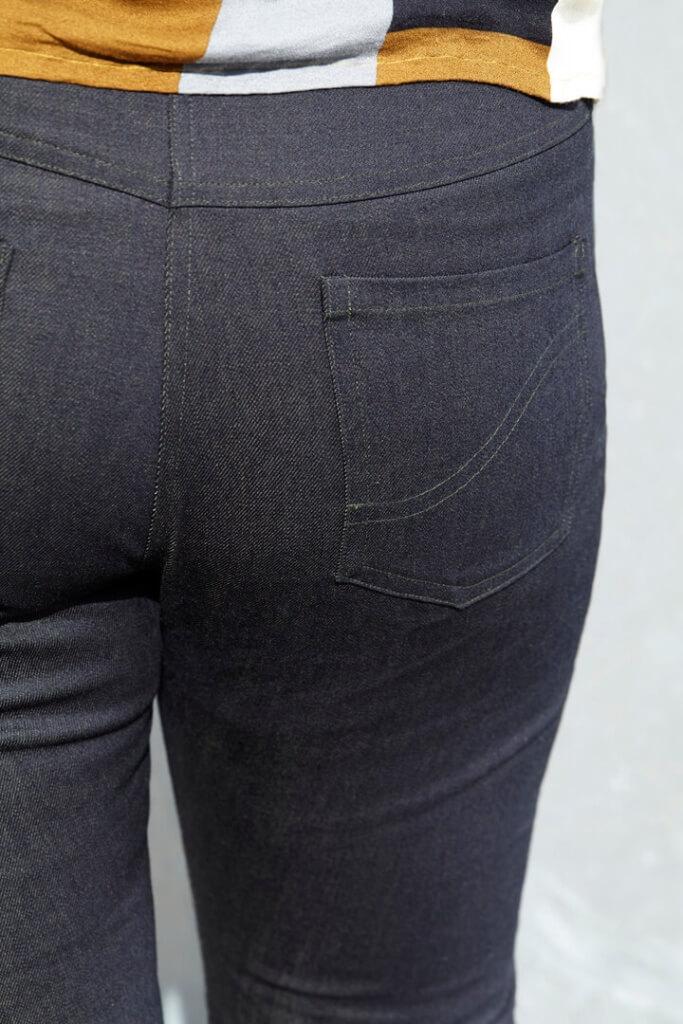 Stramme jeans med god pasform
