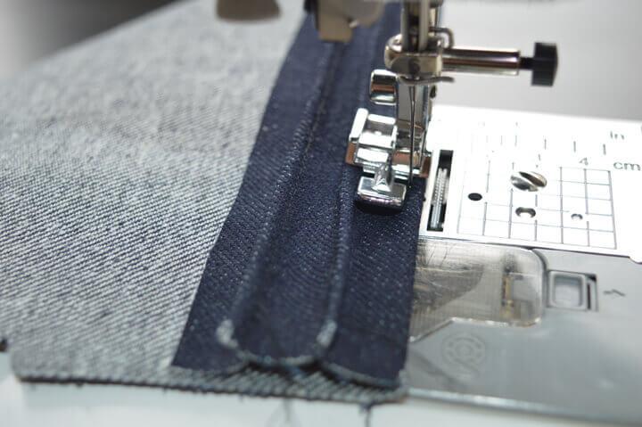jeans detaljer