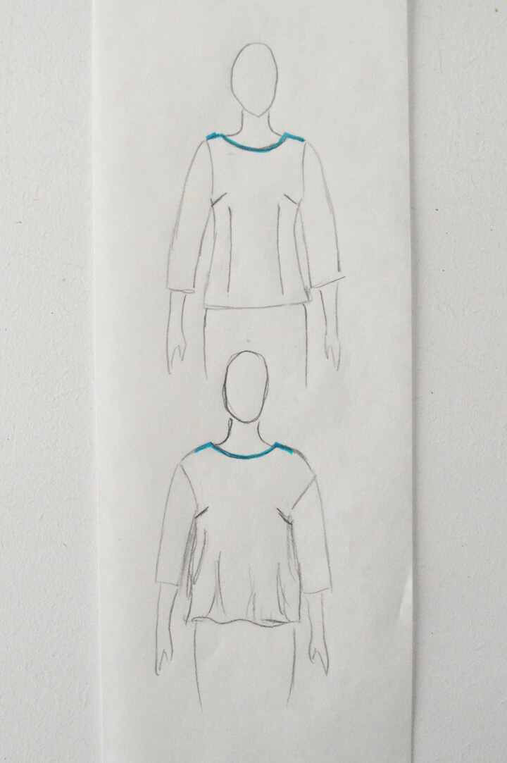 løsere pasform i bluser og kjoler