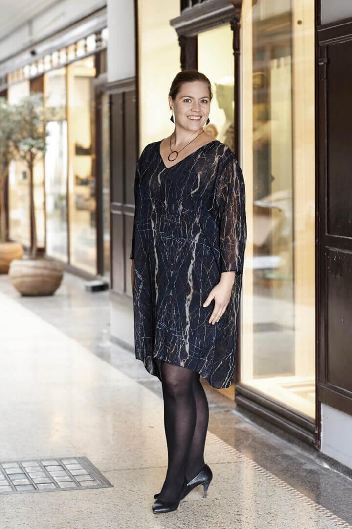 Kjolestof - Chiffon kjole
