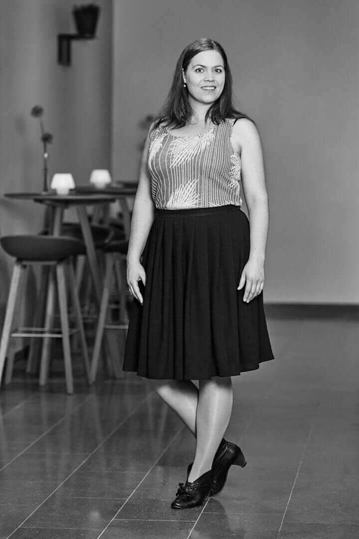 Sy nederdele - nederdel med læg