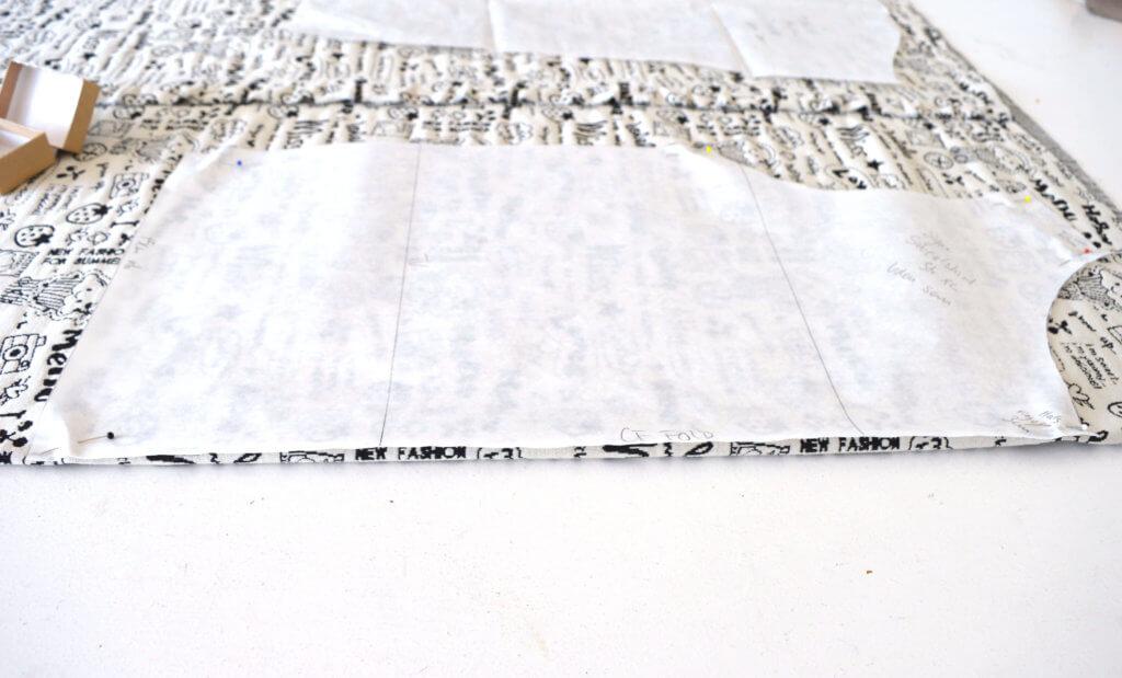 Mønsterdel til fold