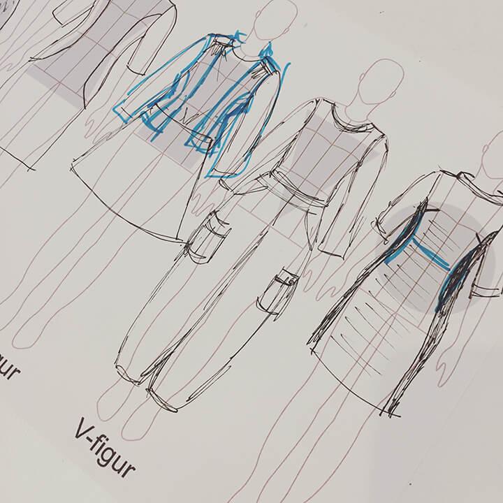 Personligt grundmønster til kjole