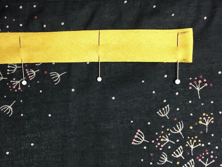Sy en kjole med elastik i taljen