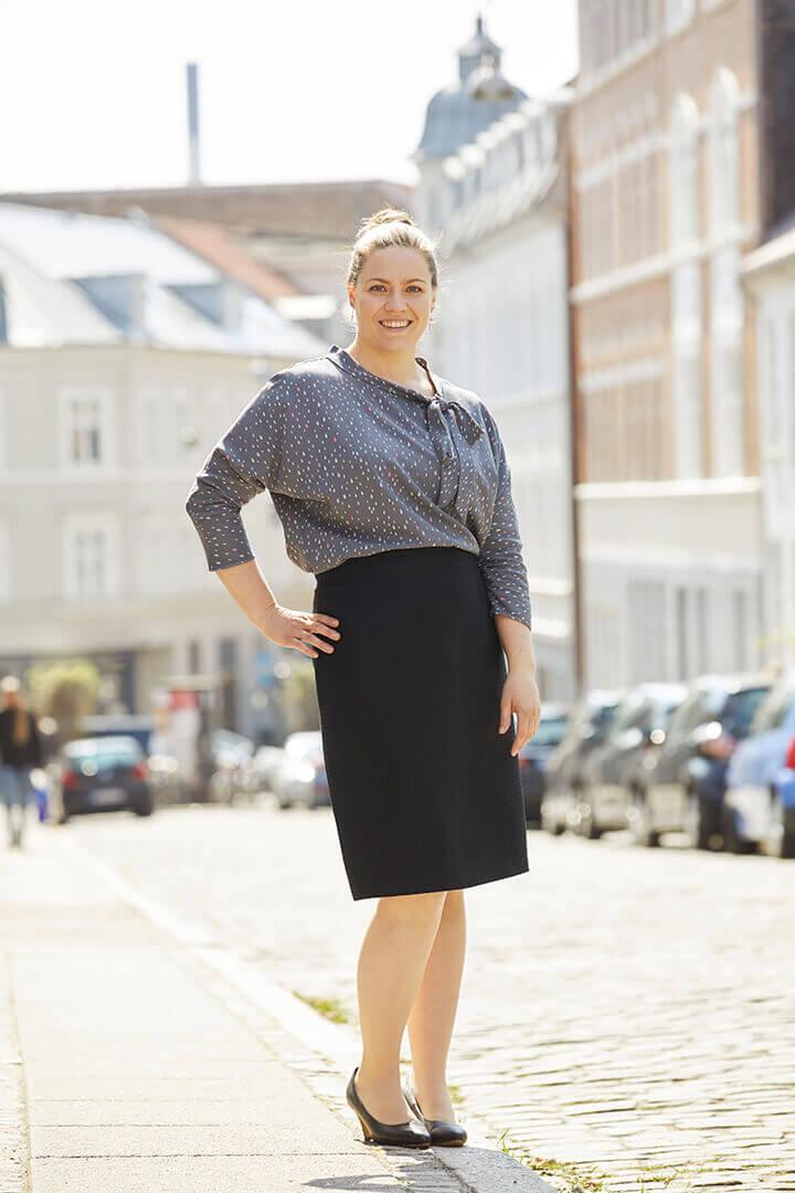 b72207968617 Den smarte måde at lave bluser og kjoler med meget løs pasform ...
