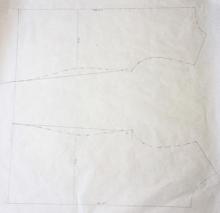 mønster jerseykjole