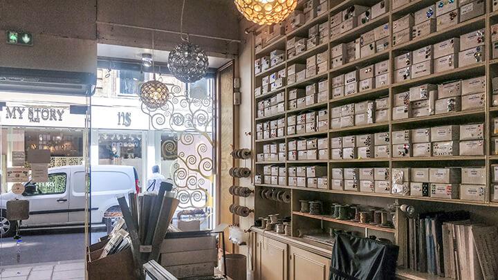 Stofbutikker i Paris - Fried Freres