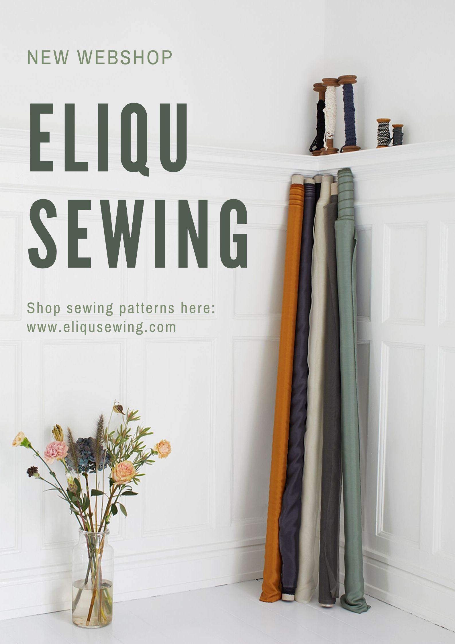 ELiQU Sewing new webshop