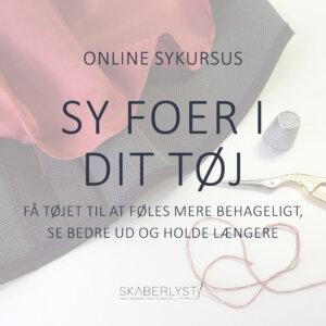 Sy Foer I Dit Tøj online sykursus