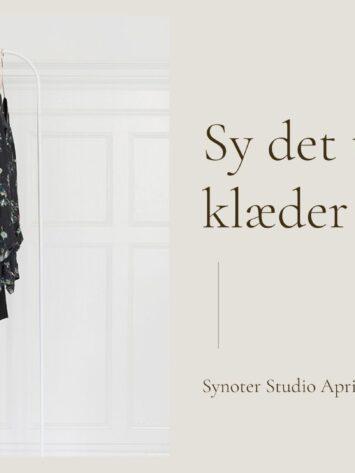 Synoter Studio - Sy det tøj, der klæder dig