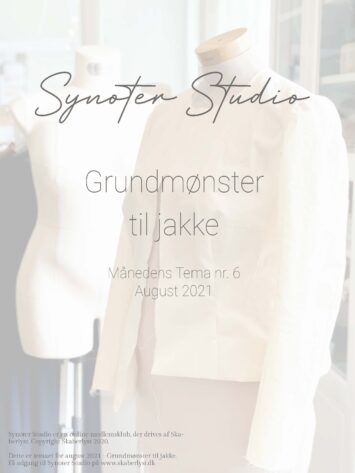 SYNOTER Grundmønster til jakke